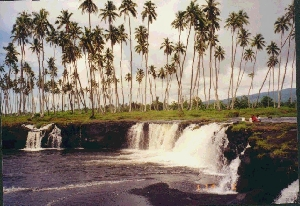 south coast of Savi'i, Samoa